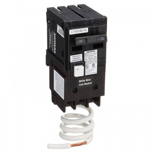 2 Pole 20 amp GFCI Breaker | Sie QF220 A A Amp Circuit Breaker Wiring on