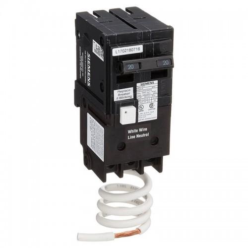 2 Pole 60 amp GFCI Breaker | Siemens QF 260 Agfi warehouse