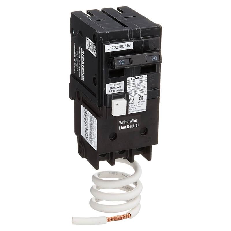 2 Pole 50 amp GFCI Breaker | Siemens QF250A gfi warehouse