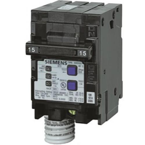 Siemens Q215AFC 2 Pole Combination AFCI Breaker